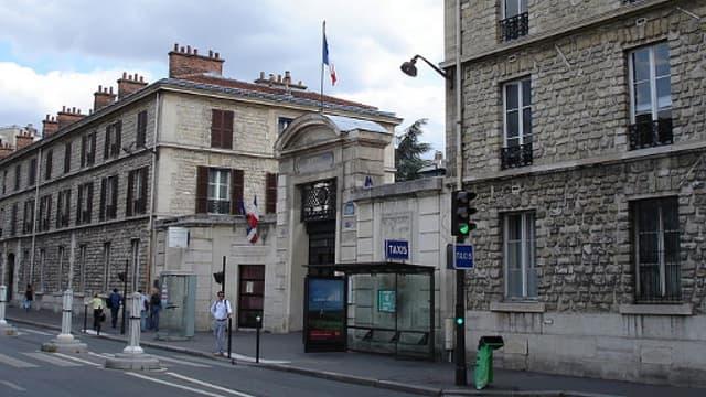 L'entrée de l'hôpital Necker, à Paris (illustration)