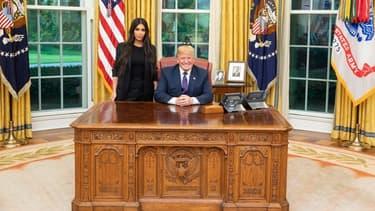 Kim Kardashian et Donald Trump le 30 mai