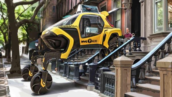 Le concept Elevate pourrait également servir de voiture du quotidien, afin par exemple d'aller chercher les personnes handicapées dans des villes qui ne leur sont que peu faciles d'accès.