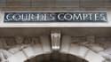 Façade de la Cour des comptes, le 22 janvier 2013.