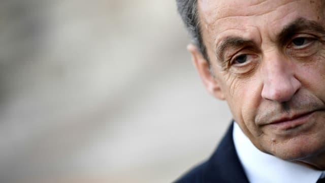 L'ancien président Nicolas Sarkozy le 14 mai 2017 à Paris