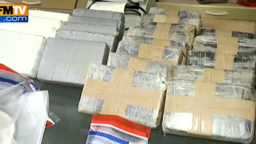 Les quelque 50 kilogrammes de drogue avaient été filmés le 4 juillet, lors de leur saisie.