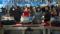 Contrôles de sécurité à l'aéroport Paris-Charles-de-Gaulle. (image d'illustration)