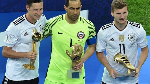 Draxler, Claudio Bravo et Werner