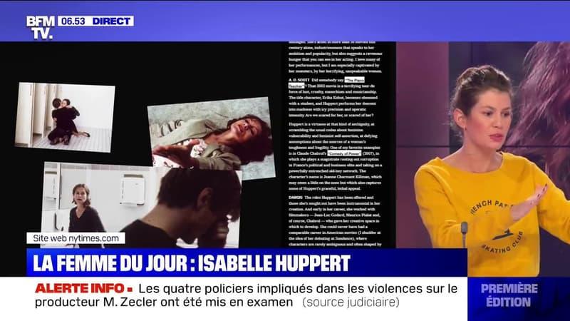 Isabelle Huppert deuxième du classement des meilleurs acteurs du XXIe siècle selon le New York Times