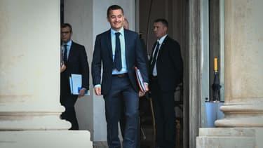 Gérald Darmanin le 31 août 2018 à l'Elysée.