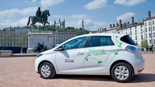 La ville de Lyon vient de se faire livrer une flotte de Zoé mises à la disposition de ses agents.