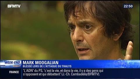 """Mark Moogalian, l'un des """"héros"""" méconnus du Thalys témoigne"""