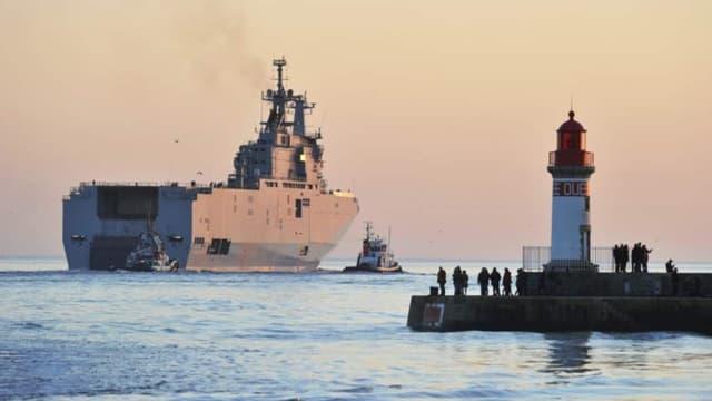 La France et la Russie ont trouvé un accord pour l'annulation de la vente des navires Mistral.