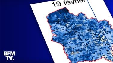 Infographie sur le taux d'incidence dans les Hauts-de-France