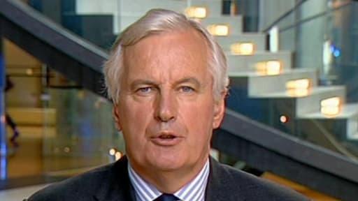 """Michel Barnier, commissaire européen en charge des services financiers, salue cette étape vers une réforme """"tant attendue et indispensable""""."""