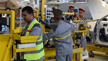 L'usine de Renault en Algérie a une capacité de production de 50.000 véhicules par an et emploie 700 salariés.