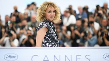 Valeria Golino en mai 2018 lors de la présentation de son film Euforia au Festival de Cannes.