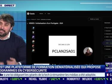 La pépite: Seela, une plateforme de formation dématérialisée qui propose des programmes en cybersécurité, par Lorraine Goumot - 25/02