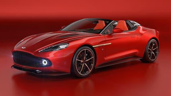 Le Speedster se veut le modèle le plus exclusif de la gamme, avec seulement 28 exemplaires produits, et bien entendu tous vendus, si l'on en croit Aston Martin.