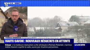 Haute-Savoie: de nouveaux résultats en attente