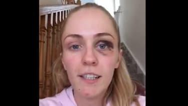 La jeune Emma Murphy dans sa vidéo témoignage.
