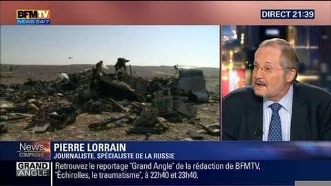 """Crash dans le Sinaï: """"Que cet accident soit un attentat ou pas, cela ne change rien pour la Russie"""", Pierre Lorrain"""