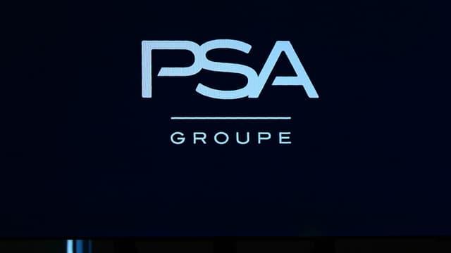 Le nouveau logo du constructeur PSA Peugeot Citroën.