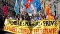 Dans le cortège marseillais. Les Français sont appelés à faire grève et manifester ce jeudi pour peser sur la réforme des retraites du gouvernement, qui a redonné du tonus aux syndicats et à l'opposition en annonçant la fin de la retraite à 60 ans. /Photo