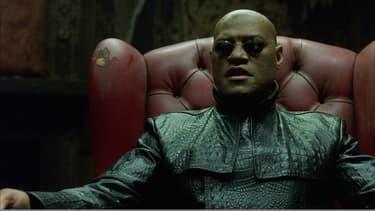 "Laurence Fishburne dans ""Matrix"" (1999)"