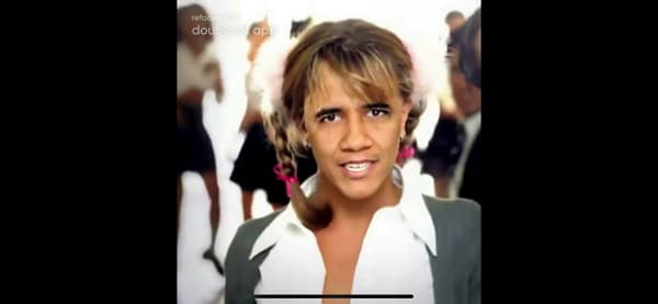 Traits of Barack Obama with those of Britney Spears