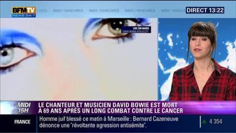 David Bowie: Sa mort crée une pluie d'hommages