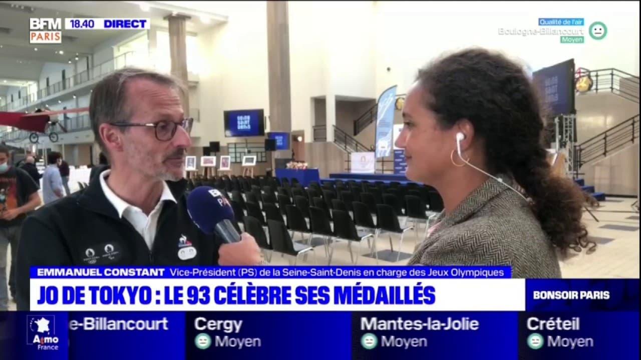 Jeux Olympiques et Paralympiques de Tokyo: les médaillés de Seine-Saint-Denis sont célébrés au Bourget