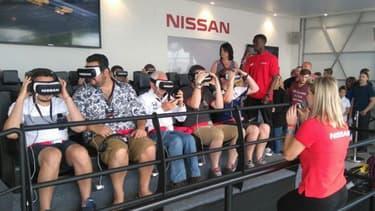 Une expérience Nissan GT-R lors du dernier festival de Goodwood