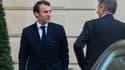 Le nouveau ministre de l'Economie, de l'Industrie et du Numérique Emmanuel Macron
