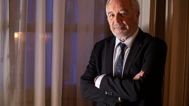 François Rebsamen, le 16 décembre 2019 à Dijon.