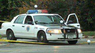 Une voiture de police aux Etats-Unis (photo d'illustration).