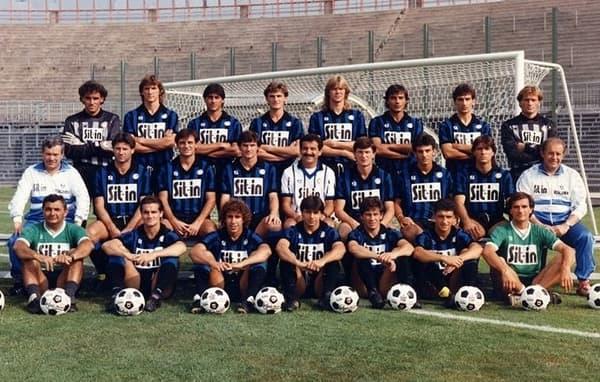 L'équipe de l'Atalanta Bergame version 1987-88