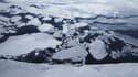 Les glaciers du Groenland auraient contribué à faire monter le niveau des océans de 13,7 millimètres depuis 1972.