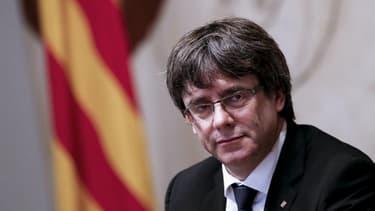 Le chef destitué de l'exécutif catalan, Carles Puigdemont.