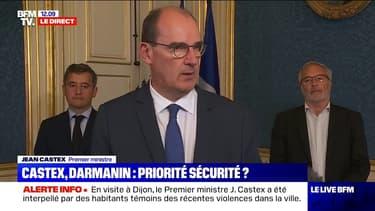 """Jean Castex est venu apporter """"un message d'une grande fermeté"""" à Dijon"""