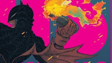 Un visuel de Dark Knight Returns: The Golden Child de Frank Miller et Rafael Grampa