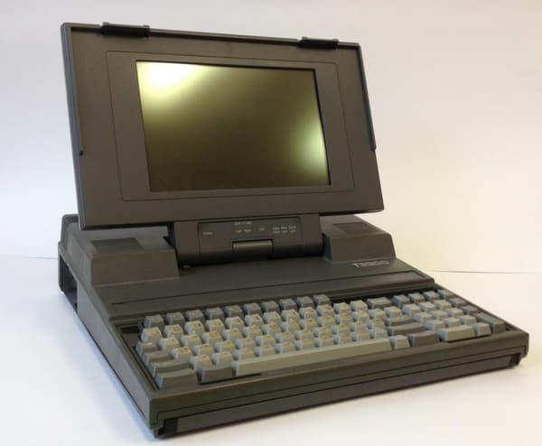 Le premier ordinateur de François Fillon était un Toshiba T3200, acquis en 1987.