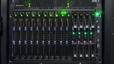 Les serveurs sur lesquels sont stockés les archives du Web français.