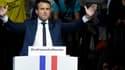 """Les investisseurs américains saluent """"l'effet Macron""""."""