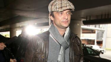 David Hallyday à Los Angeles le 11 décembre 2009