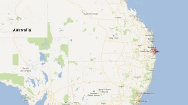 C'est à une centaine de kilomètres au sud de Brisbane que le véhicule a été arrêté.