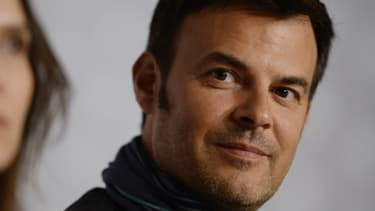 """Le cinéaste français François Ozon en conférence de presse à Cannes pour son film """"Jeune et jolie"""""""