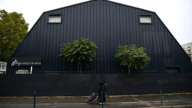 La Grande mosquée de Pantin (Seine-saint-Denis), le 20 octobre 2020,  fermée pour six mois