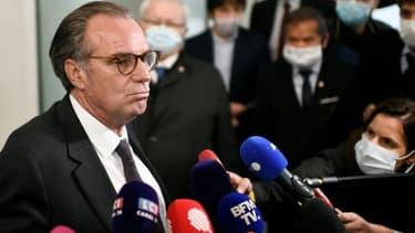 Le président LR sortant de la région Paca, Renaud Muselier, le 4 mai 2021 à Paris