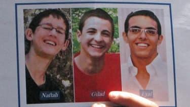 Les trois Israéliens ont disparu il y a deux semaines, sans laisser de trace de vie.