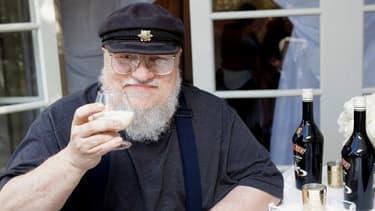 George R. R. Martin, l'auteur de Games of Thrones, à Beverly Hills en septembre 2013