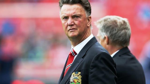 Louis van Gaal, l'entraîneur de Manchester United