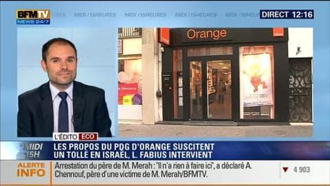 Pourquoi l'opérateur téléphonique Orange veut-il quitter Israël ?