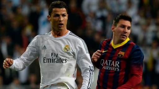 Lionel Messi a encore une bonne longeur d'avance sur Cristiano Ronaldo.